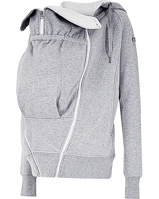 Seraphine Maternity + Baby carrying Jumper 3-In-1 Connor with Active Hoodie, Charcoal Sweatshirts