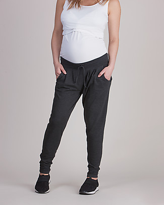 Seraphine Maternity Leisure Pants Kian - charcoal Trousers