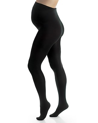 Seraphine Maternity Tights 100 Den (Extra Belly Support) - Black Tights