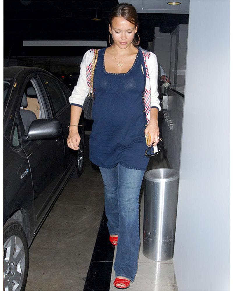 Seraphine paula bootcut maternity jeans