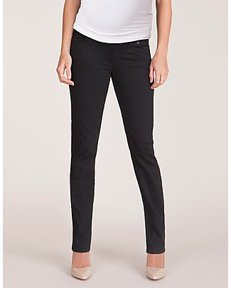 Seraphine Remy - Super Skinny Overbump Jeans - Black Maternity Jeans