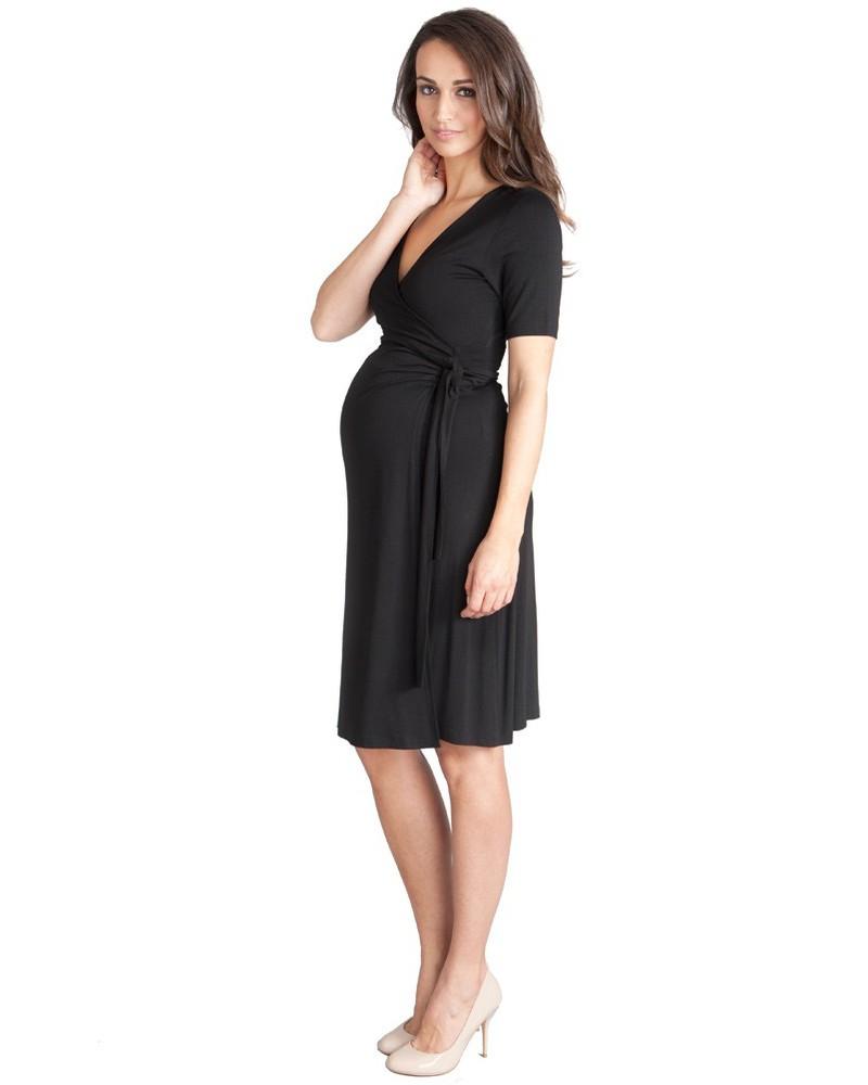 Seraphine Tanya Maternity Nursing Wrap Dress