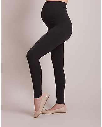 Seraphine Seamless Maternity Leggings - Holi - Black - New Model null