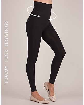 Seraphine Tamara Post Maternity Shaping Leggings, New Model - Black Leggings