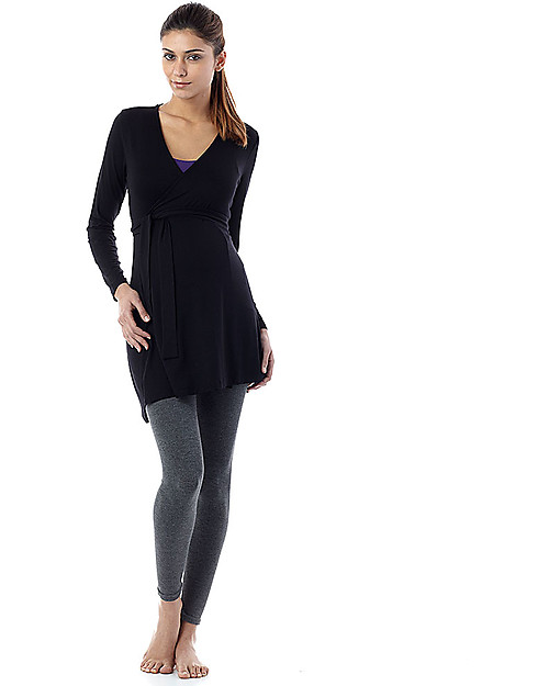 6c2f2dc4c1689 Seraphine Tammy Under-Bump Bamboo Maternity Leggings - Grey (for an active  lifestyle!