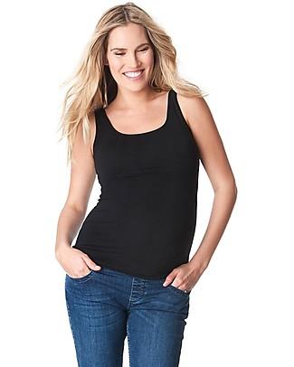 Seraphine Verena, Maternity and Nursing Vest, Black - Super-soft! T-Shirts And Vests