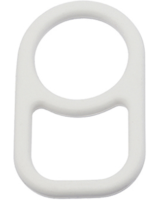 SIGG D-Neck Ring for SIGG Bottle - White (clasp for bag or backpack) Metal Bottles