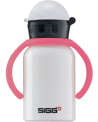SIGG Kids Grip - Pink - (for babies and small children!) Metal Bottles