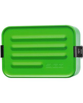 SIGG Mini Metallic Lunchbox - Green - BPA and Phthalate Free! null