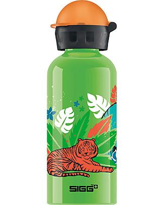 SIGG Safari - Drinking Bottle 0.4 L + Matching Bag - Light, safe and leak-proof null