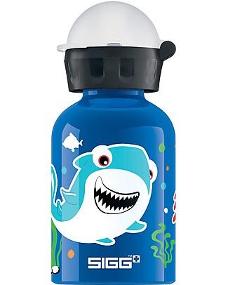 SIGG Sea Life Drinking Bottle with Sports Cap 0.3 L - Light, safe and leak-proof Metal Bottles