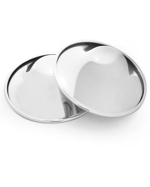 Silverette Silverette Nursing Cups - Soothing Sore Breasts or Cracked Nipples with Silver Silver Nursing Cups