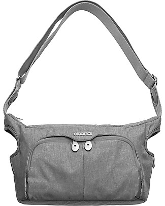 Simple Parenting Essentials Stroller Bag for Doona+, Grey - 39 x 22.5 x 4 cm Diaper Changing Bags & Accessories