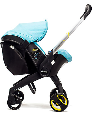 Simple Parenting Snap On Stroller Bag for Doona+, Black Car Seat Accessories