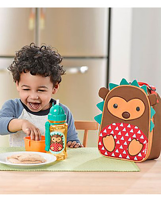 Skip Hop Zoo Insulated Kids Lunch Bag, Hedgehog - Ideal on-the-go! (23x20x8 cm) Lunch Boxes