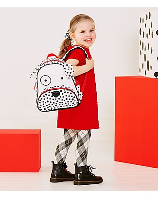 Skip Hop Zoo Little Kid Backpack (3+ years), Dalmatian - Perfect for pre-Schoolers Small Backpacks