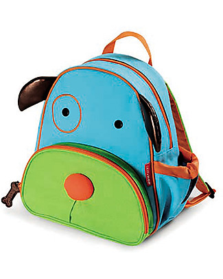 Skip Hop Zoo Little Kid Backpack (3+ years), Dog - Perfect for pre-Schoolers null