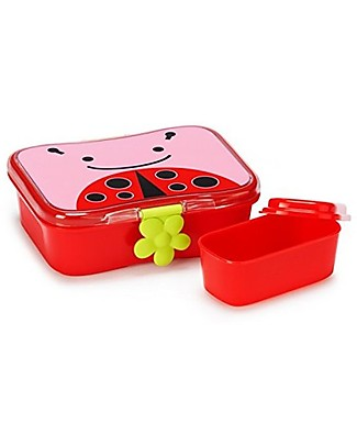 Skip Hop Zoo Little Kid Lunch Case, Ladybug - Perfect for School or at the Park! Snack and Formula Containers