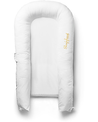 SleepyHead Cover for Sleepyhead Grand Pod from 9 to 36 months, Pristine White - 100% Oeko-Tex certified cotton Baby Nest