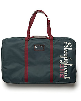 SleepyHead Deluxe+ Transport Bag 'on the go' (0-8m), Navy - With zip and Handles Diaper Changing Bags & Accessories