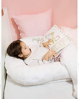 SleepyHead Sleepyhead Grand Pod, 9 to 36 months, Pristine White - 100% Oeko-Tex certified cotton, removable cover Baby Nest