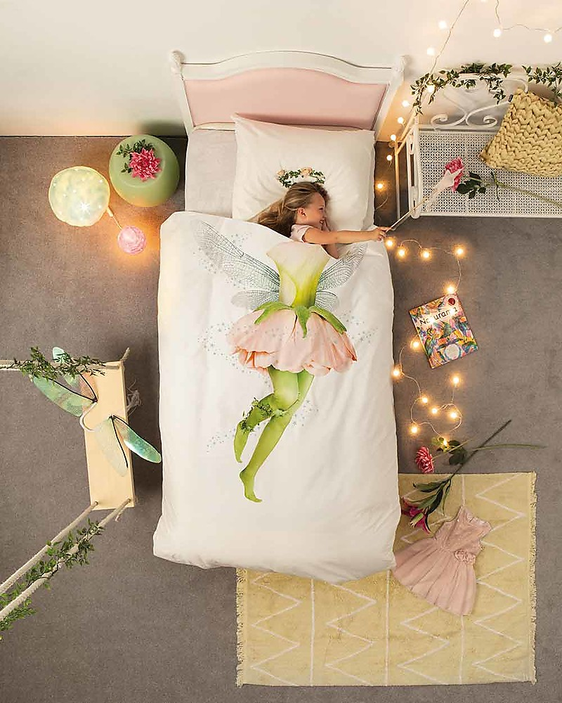 Copripiumino 200 X 220.Snurk Bedding Set Duvet Cover And Pillowcase Fairy Single Bed