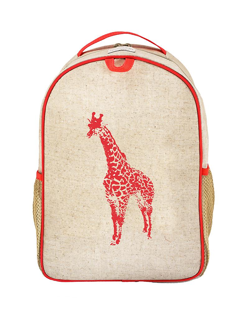 Frugi Character Backpack Giraffe