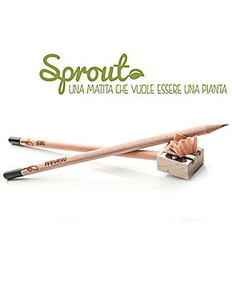 Sprout Plantable Pencil 100% Sustainable - Oregano Gardening Toys