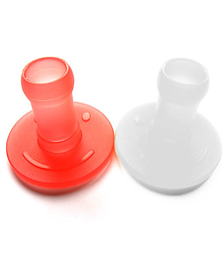 Squiz Set of 2 Squiz Top Soft Silicone Adaptors - Ideal for Babies Reusable Pouch