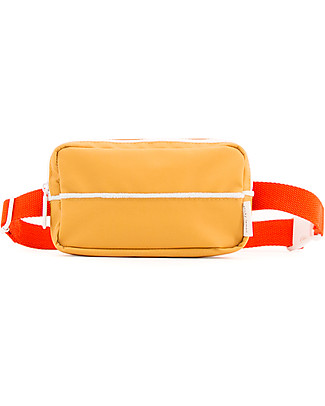 Sticky Lemon Fanny Pack Teddy, Caramel Fudge/Sporty Red - Made from recycled pet bottles Large Backpacks