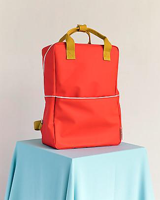 Sticky Lemon Teddy Backpack Large, Sporty Red/Caramel Fudge/Powder Blue - 27x38 cm null