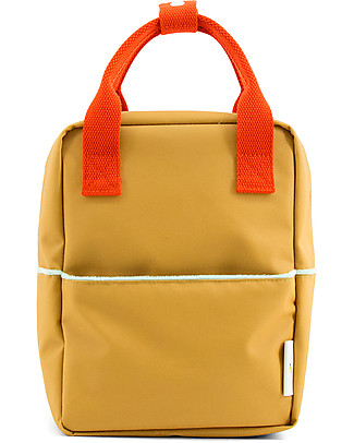 Sticky Lemon Teddy Backpack Small, Caramel Fudge/Sporty Red/Powder Blue - Perfect per pre-schoolers! Large Backpacks