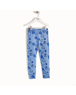The Bonnie Mob Buchan Leggings, Blue Sunnies - Organic Cotton, eco-friendly! Leggings