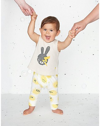The Bonnie Mob Davis Leggings, Sunshine - Organic Cotton, eco-friendly! Leggings