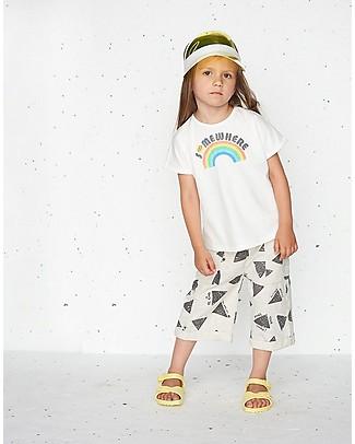 The Bonnie Mob Deacon Kimono Shape T-shirt, Somewhere (2-5 years) - Organic Cotton T-Shirts And Vests