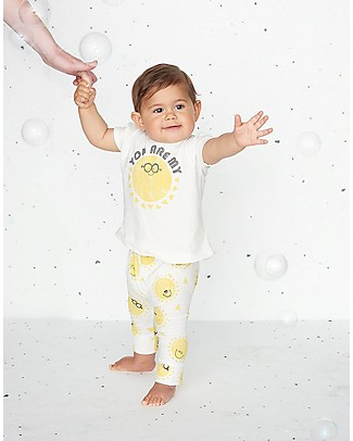 The Bonnie Mob  Deacon Kimono Shape T-shirt, You are my Print (12-24 months) - Organic Cotton T-Shirts And Vests