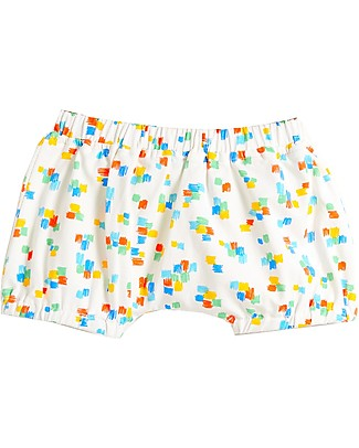 The Bonnie Mob Degas Bloomers Shorts for Babies, Multicolour - Organic Cotton Shorts