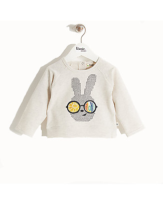 The Bonnie Mob Tide Embroidered Lightweight Sweatshirt, Bunny Sunnies - 100% cotton Sweatshirts