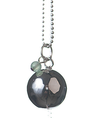 The Good Karma Mexican Bola Baby Pearl, Jade – The wisdom stone Necklaces