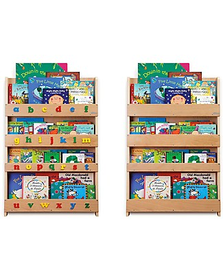 Tidy Books Bookcase Replacement Panels - Natural Bookcases