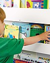 Tidy Books OUTLET - Children's Front Facing  Wood Bookcase - White Bookcases