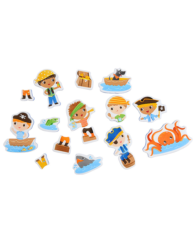 Tiger Tribe Bath Stories, Once Upon a Pirate - 18 figures for tub ...