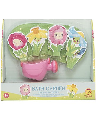 Tiger Tribe Bath Stories, Spring Flowers - 18 figures for tub-play! Bath Toys