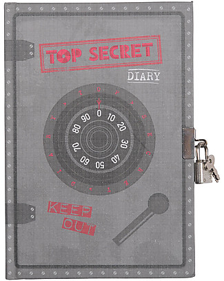 Tiger Tribe My Diary, Top Secrets - with included Padlock! Diaries
