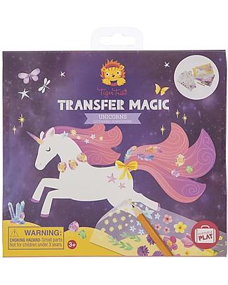 Tiger Tribe Transfer Magic Activity Set, Unicorns Creative Toys