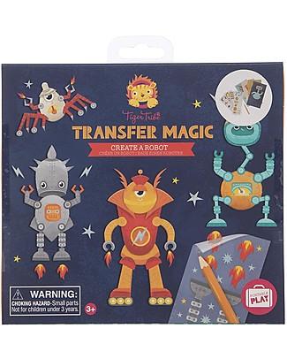 Tiger Tribe Transfer Magic Create a Robot Activity Set Creative Toys