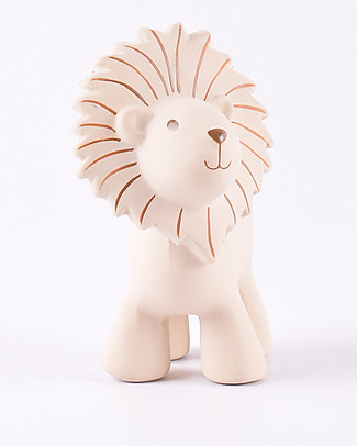 Tikiri Lion, My First Zoo - 100% Natural Rubber Rattles