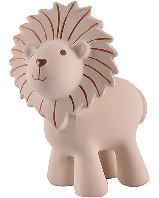 Tikiri Rattle Lion, My First Zoo - 100% Natural Rubber Rattles