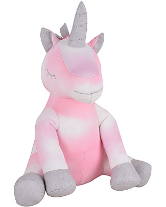 Tikiri Soft Unicorn Toy, Fairytales - 26 cm - Organic Cotton Soft Toys