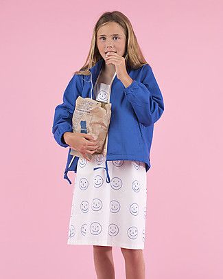 Tiny Cottons Happy Face, Cross Back Dress –  100% Cotton Dresses